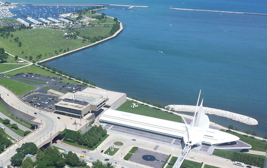 Milwaukee Art Museum and Lakefront from US Bank Building